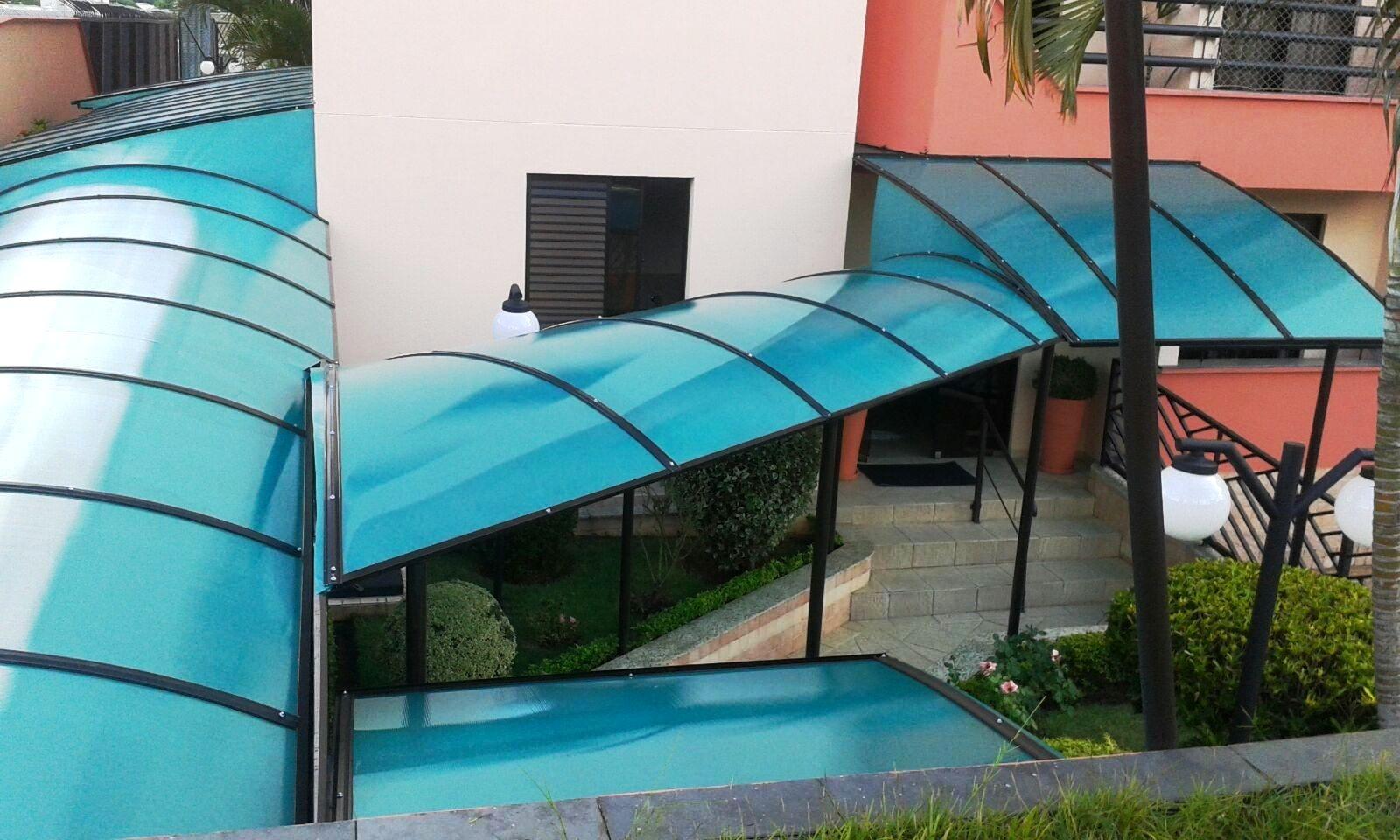 Cobertura de Policarbonato na Vila Medeiros - Empresa de Coberturas Metálicas