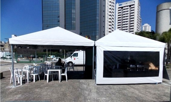 Locação de Cobertura e Tendas no Parque Peruche - Locação de Coberturas para Festas