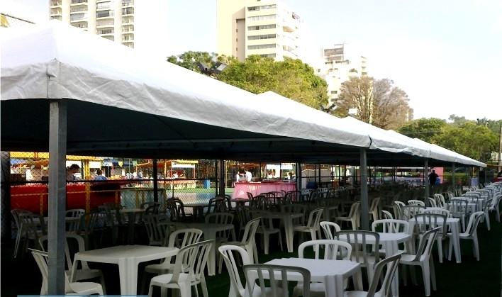 Locação de Cobertura para Festas na Bosque Maia - Locação de Coberturas para Festas e Eventos