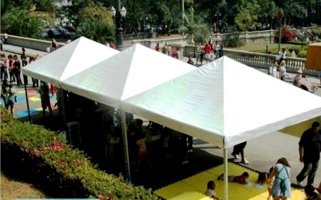 Locação de Coberturas e Tendas em Embu Guaçú - Locação de Coberturas para Festas