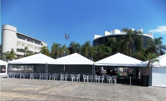 Quanto Custa Aluguel de Tenda Piramidal na Vila Maria - Tenda Piramidal para Alugar