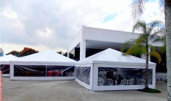 Tendas e Coberturas para Eventos na Cabuçu de Cima - Locação de Coberturas para Eventos Corporativos