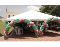 alugueis de coberturas para festas no Jardim Aracília
