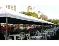aluguel de coberturas para festas serviços no Parque Alexandre