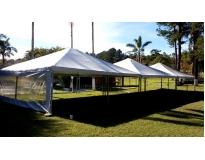 aluguel de tenda para casamento serviços em Santo Amaro