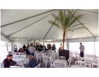 aluguel de tenda para evento na Monte Carmelo