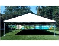 aluguel de tenda piramidal serviços em Poá