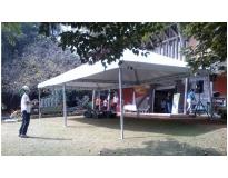 aluguel de tendas e coberturas no Jardim Vila Galvão