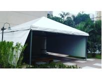 aluguel de tendas e toldos na Aclimação