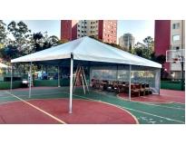 aluguel de tendas em sp serviços no Recanto dos Victor