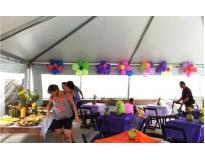 aluguel de tendas para eventos no Parque São Jorge