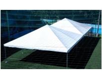 aluguel de tendas piramidais no Jardim Leonor