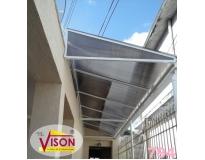 cobertura de policarbonato para escada serviços na Serra da Cantareira