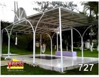 cobertura policarbonato para pergolado Jardim Tupanci