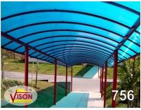 fábricas de cobertura de policarbonato no Parque São Lucas