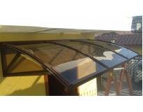 instalação de cobertura em policarbonato serviços na Vila Mazzei