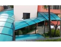 instalação de cobertura em policarbonato em Aricanduva