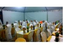 locação de tenda para casamento em Salesópolis