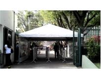 locação de tenda para eventos no Capelinha