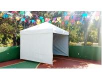 locação de tenda piramidal no Morro Grande