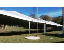 locação de tendas para casamento serviços na Portão