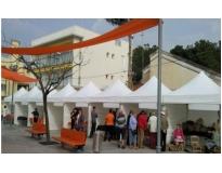 locação de tendas para eventos serviços no Jardins