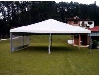 locação de tendas piramidais no Jardim América