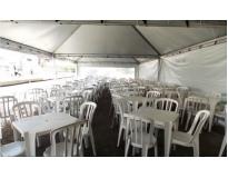 locação de tendas serviços na Vila Buarque