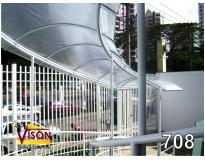 onde encontrar cobertura de policarbonato para corredor na Vila Curuçá