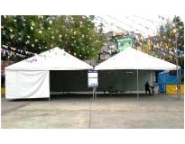 onde encontrar empresa de locação de tendas na Vila Dalila