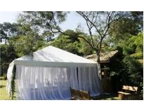 onde encontrar locação de tendas para casamento em Alphaville