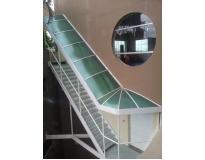 onde encontrar toldos e coberturas para escadas na Tanque Grande
