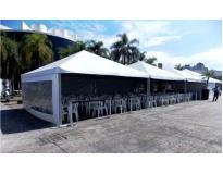 quanto custa alugar tenda no Parque São Jorge