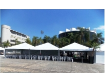 quanto custa aluguel de tenda piramidal Bosque Maia Guarulhos