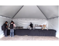 quanto custa aluguel de tendas para eventos no Brás