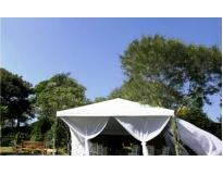 quanto custa locação de tendas para casamento na CECAP