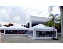 quanto custa tenda piramidal fechada no Jardim Aracília