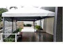 quanto custa tenda piramidal para alugar na Vila Romana