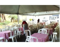 quanto custa tendas para eventos em Belém