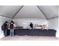 quanto custa tendas para festas em Aricanduva