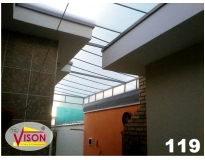 quanto custa toldo lona transparente na Vila Romana
