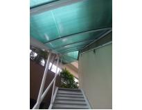 quanto custa toldos e coberturas para escadas na Água Azul