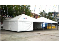 serviço de locação de tendas na Nossa Senhora do Ó