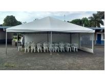 serviços de empresa de aluguel de tendas em Santana