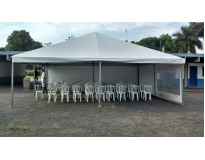 serviços de empresa de aluguel de tendas no Recanto dos Victor