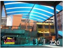 serviços de empresa de cobertura de garagem em Suzano