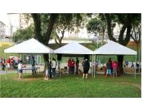 serviços de empresa de locação de tendas em Carapicuíba