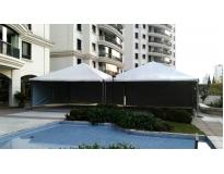 tenda piramidal em são paulo na São João