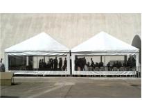 tenda piramidal fechada serviços em Santa Isabel