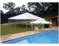 tenda piramidal para alugar serviços na Água Azul
